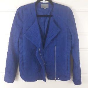 Rare Tinley Road Textured Moto Zip Jacket